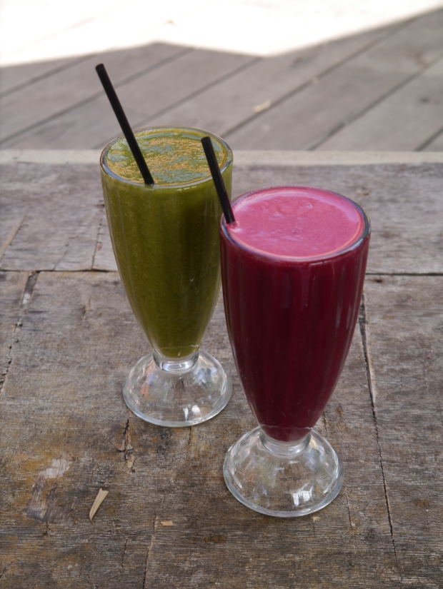 Bright, colourful and darn tasty smoothies