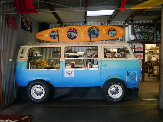 The combi of Kombi Cafe