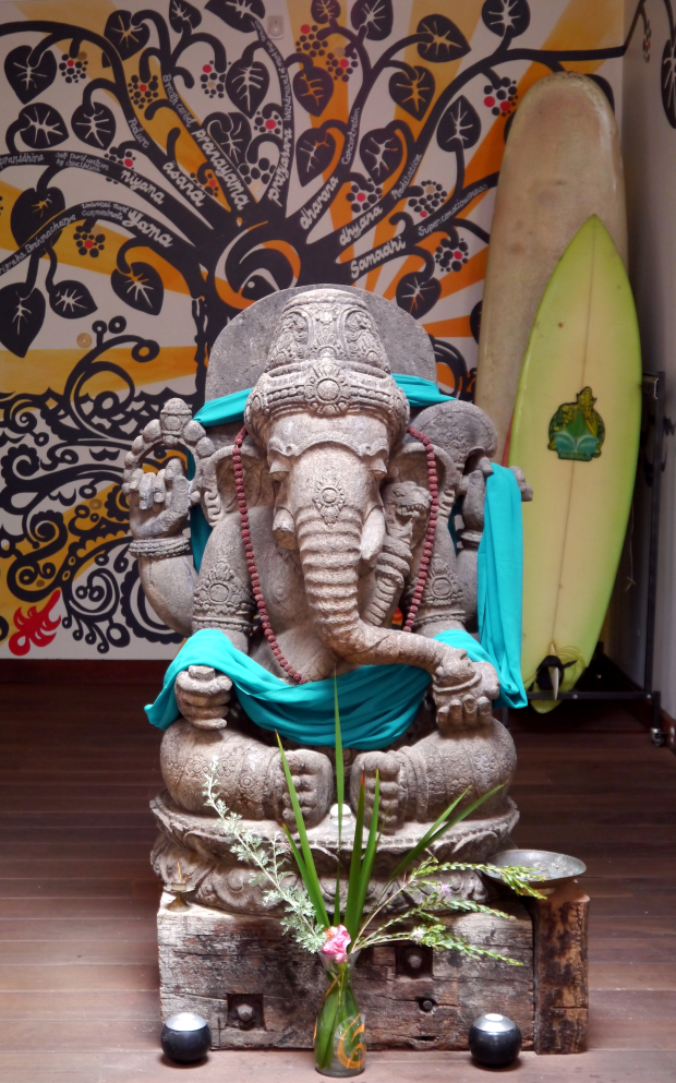 Ganesh welcomes you to class