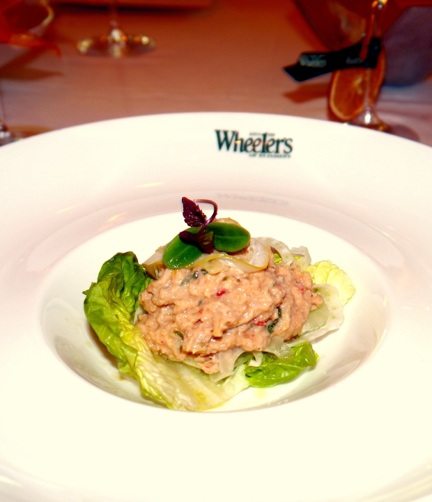 The Crab and Ginger Salad