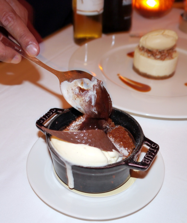 Mmmm, the incredibly rich Chocolate Fondant
