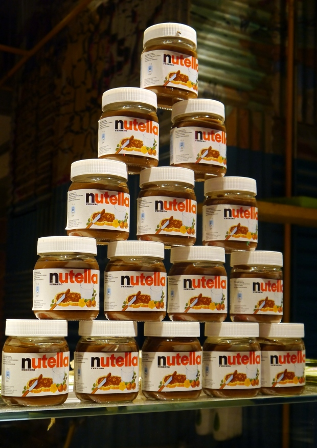 Nutella mountain!