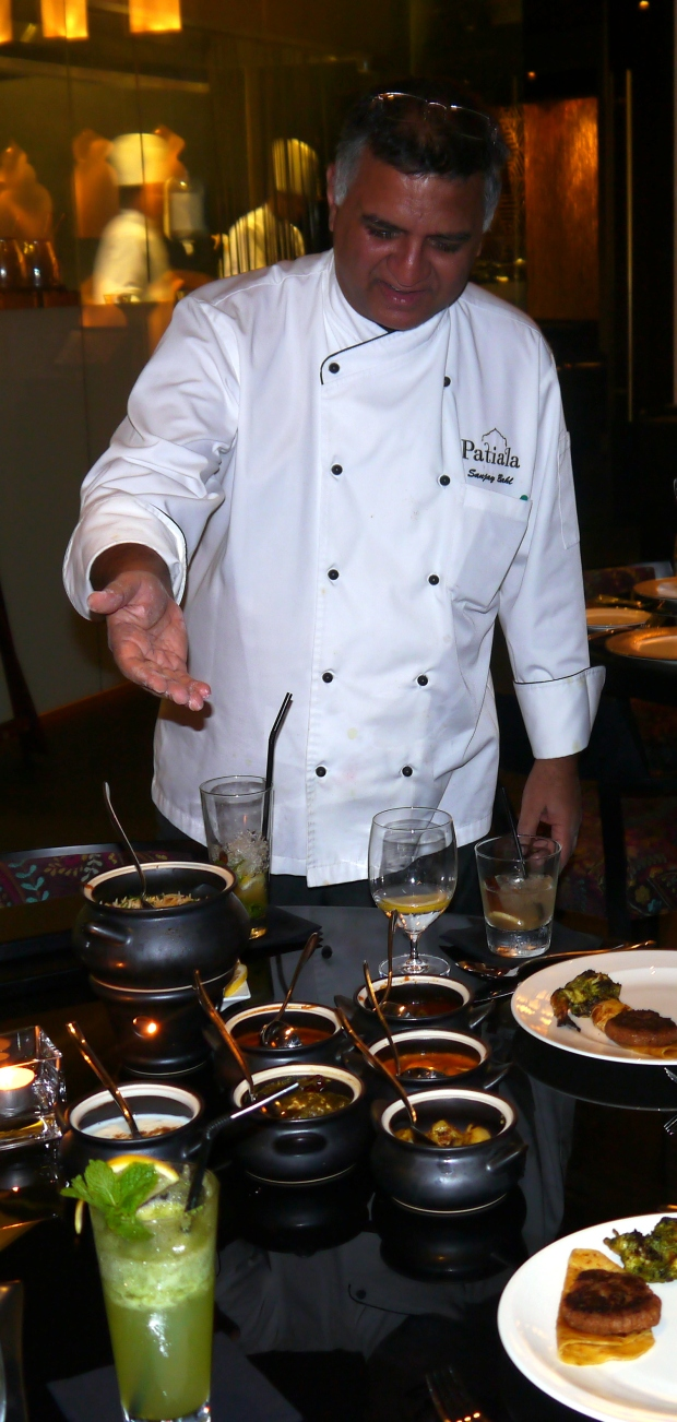 Chef Sanjay tells a story