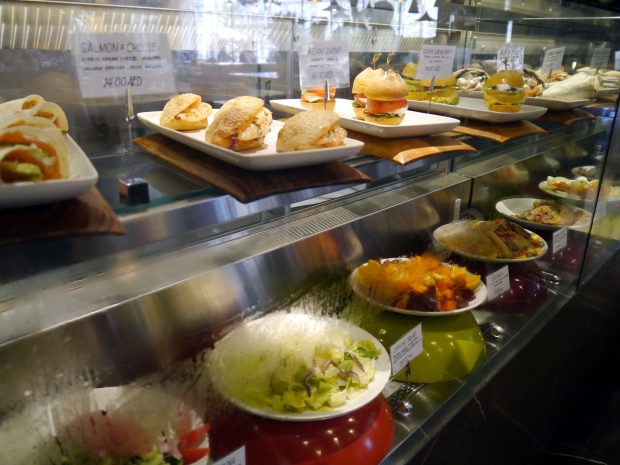 The deli counter: sandwiches and salads