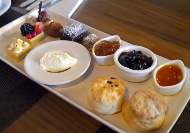The sweet treats platter from the Afternoon Tea