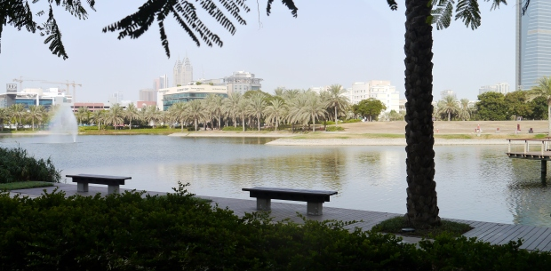 The view over the lake at DMC