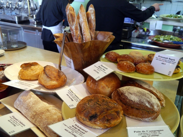 Just a selection of their delicious wild-style breads