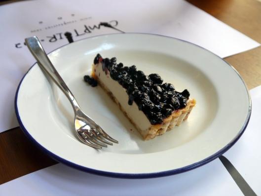 Blueberry Raw Vegan No Cheesecake