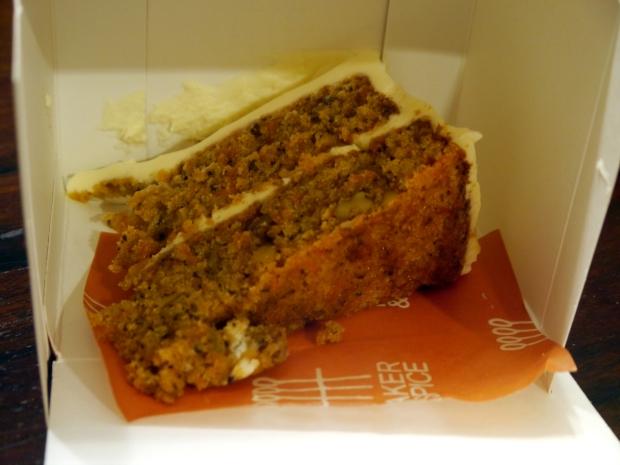 Baker & Spice fabulous carrot cake
