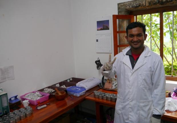 Tea scientist!