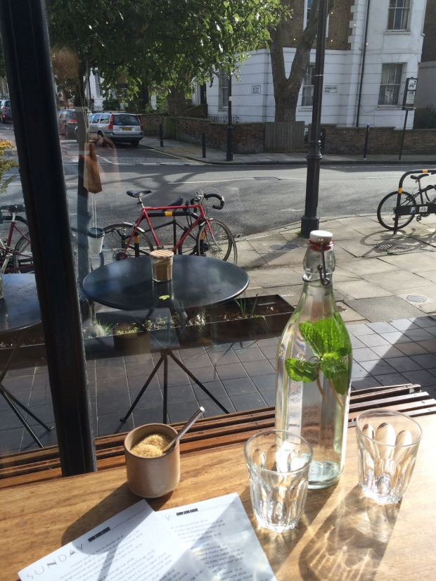 Watching the world go by in sleepy Barnsbury