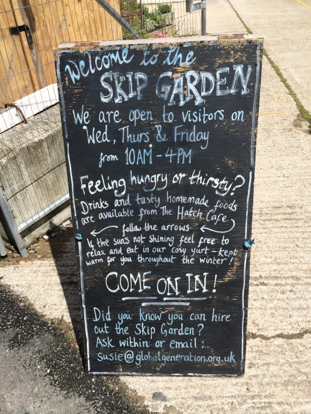 Welcome to the Skip Garden