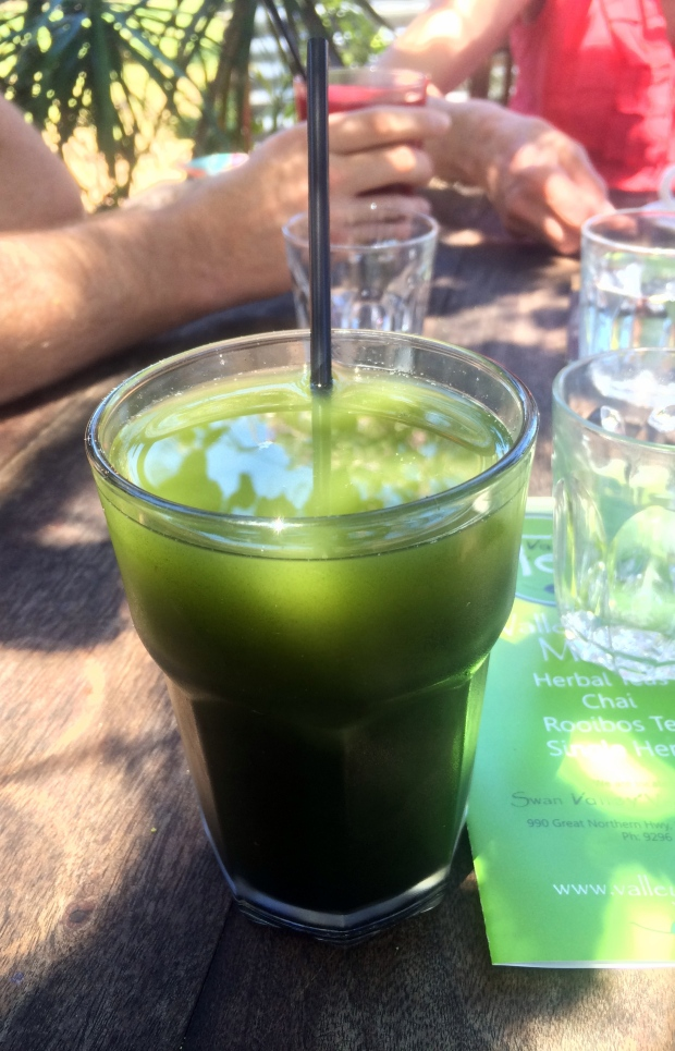 A green juice to start