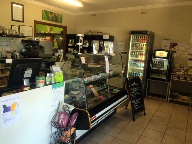 The food counter & mini shop