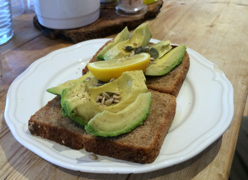 Avo on toast