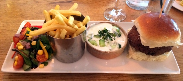 Honestly Foodie | Falafel burger @ Fuel