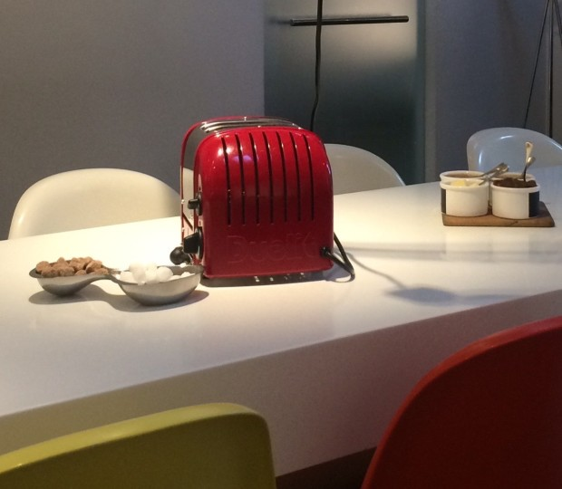 I love the red Dualit toasters, so stylish