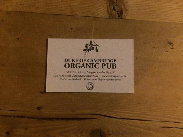 Organic pub