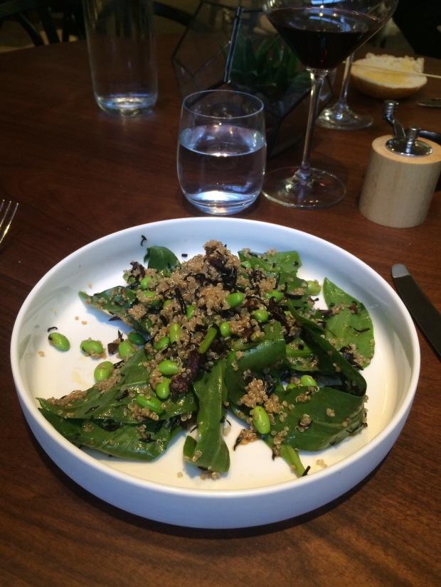 The Quinoa salad
