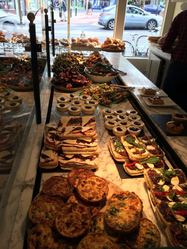 The savoury display