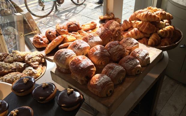 The croissant line up!