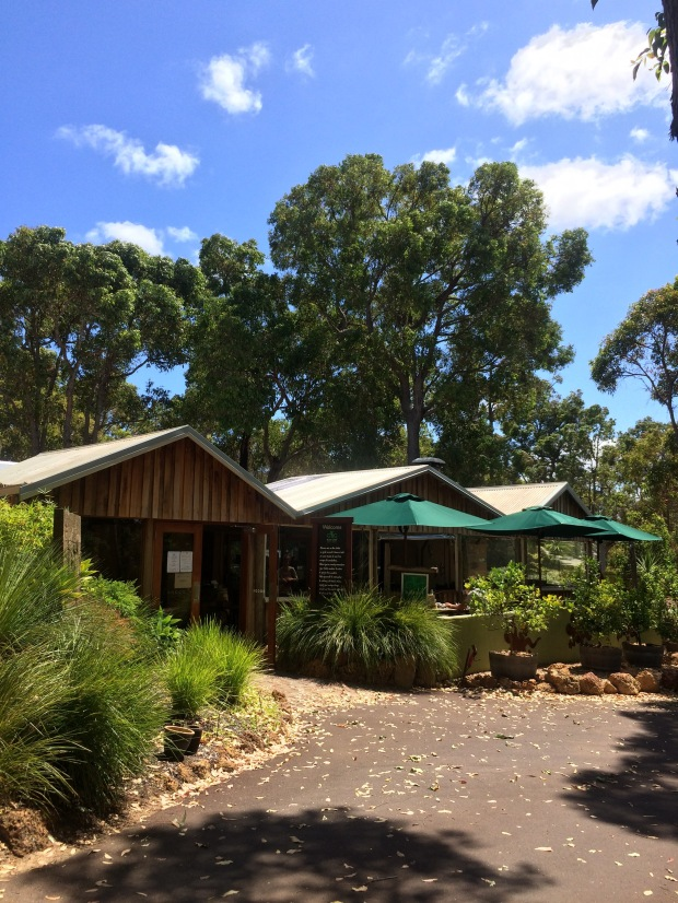 The cafe in the bush